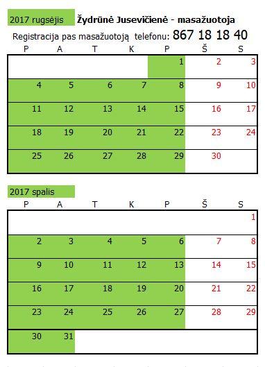 Žydrunė 2017 09 - 10